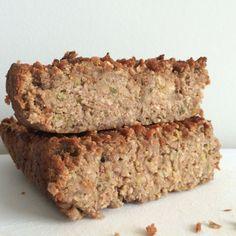 vegan paleo no sugar zucchini bread