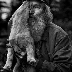 The Dog Musher. (c) Chris Gibbs. Via Dog Art Today.