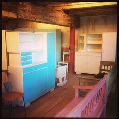 Inside our warehouse De Vintageloods.