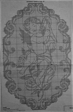 Cross Stitch Angels, Cross Stitch Borders, Cross Stitch Patterns, Crochet Patterns, Crochet Curtains, Crochet Doilies, Crochet Lace, Filet Crochet Charts, Crochet Angels