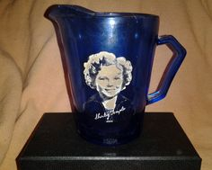 Vintage Shirley Temple Creamer, from the 1940's. Excellent condition. Beautiful Color...