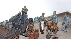 """Heeresfeldwagen """"Große Feldküche Hf.13"""" mit Vorderwagen Hf. 11 Tamiya 35247 - Diorama-Set """"Feldküche HF.13"""" Maßstab: 1:35 Einzelteile: 103 Länge: 200mm by  Joe Haidinger 2017"""