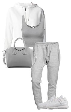 """Untitled #14"" by jasminekellly on Polyvore featuring Yves Saint Laurent, Dsquared2, Givenchy and Y-3"