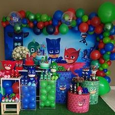 3 year old birthday party girl pj mask ideas for 2019 3 Year Old Birthday Party Boy, Third Birthday, 4th Birthday Parties, Decoracion Pj Mask, Pj Mask Party Decorations, Pjmask Party, Festa Pj Masks, Birthday Party Invitations, Ideas Para