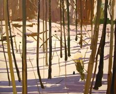 Richard Walker: Snow and Trees I,  2005