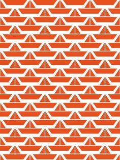 Orange Boats