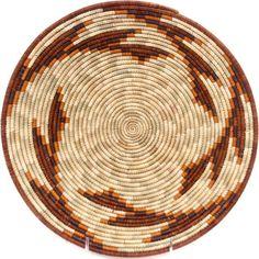 African Basket - Uganda - Rwenzori Bowl - 11 Inches Across - #48994