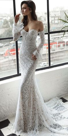 Top 27 Wedding Dresses For Celebration ❤ See more: http://www.weddingforward.com/wedding-ideas-part-2/ #weddingforward #bride #bridal #wedding
