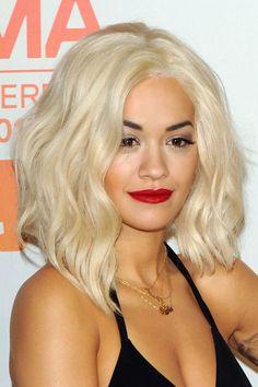Rita Ora with a bleached bob - Hair Colours
