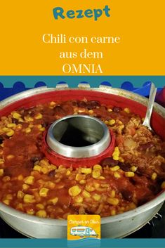Camping recipe chili from the Omnia! - Our recipe for a delicious chili con carne from Omnia. Our recipe for a delicious chili con carne f - Easy Cooking, Healthy Cooking, Cooking Tips, Camping Ideas, Tent Camping, Camping Hacks, Chili Recipes, Vegetarian Recipes, Oven Recipes