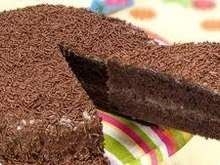 Chocolate cake ready in 3 min (microwave).