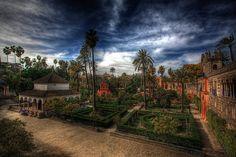 Jardines de Real Alcázar de Sevilla | Flickr - Photo Sharing!