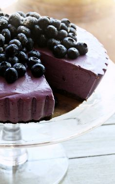 """Blueberry Cheesecake 
