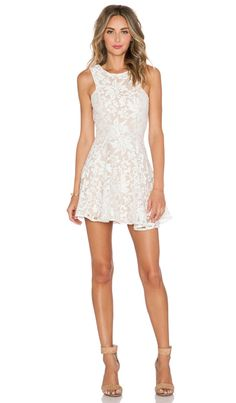 JARLO Shawe Dress in Ivory | REVOLVE
