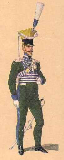 Bavaria -Lieutenant Uhlan Regiment: 1813