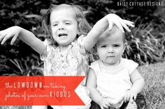The Lowdown on Taking Photos of Your Kids