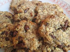 Sweet Recipes, Banana Bread, Oatmeal, Paleo, Food And Drink, Low Carb, Sweets, Cookies, Chicken