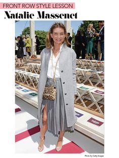 Front Row Style Lesson: Natalie Massenet