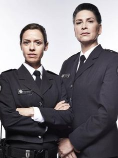 Wentworth - Kate Atkinson and Pamela Rabe as Vera Bennett and Joan Ferguson