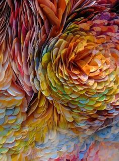 Paper Inspiration | Anthropologie Regent Street's distinctive sunflower inspired window display.