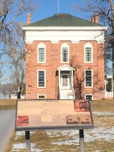Old Capitol Building, Fillmore, UT