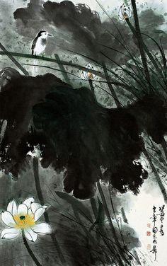 """Résultat de recherche d'images pour """"zhang daqian lotus"""""""