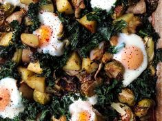 The Sheet Pan Brunch I Can't Ever Resist | I gave a veggie-and-potato breakfast hash the sheet pan treatment, and it basically makes itself—leaving me to relax in my pajamas a little while longer.