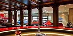 Car Buff's Man Cave :: View of the collection...