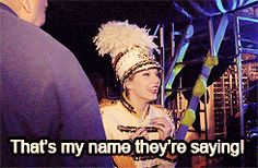 """Fearless. """"That's meh name they're sayin'! That's meh name they're sayin'!"""""""