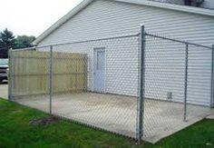 Enclosures   Chainlink Slats  