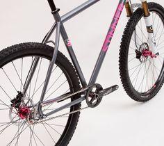 Custom Stinner Mountain Bike Frame   Stinner Frameworks