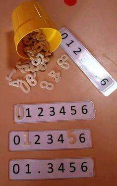 farklı materyaller ile hazırlanabilecek matematik etkinlikleri (3) | Evimin Altın Topu