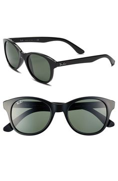 b0ab4d9a43 Ray-Ban 'Highstreet' 51mm Sunglasses available at #Nordstrom Anteojos, Gafas ,