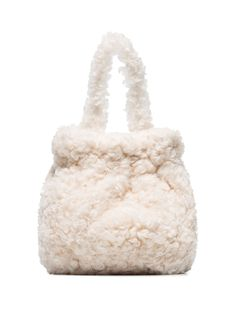 Shop for Textured Grace Bracelet Bag from top fashion designer Staud featured in ShopBAZAAR. Christopher Kane, Street Style Shop, Ankle Heels, Cream White, Personal Stylist, Bucket Bag, Women Wear, Bags, Fashion Design