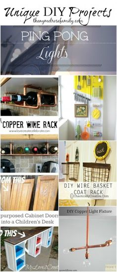 Unique DIY Projects | The NY Melrose Family
