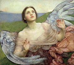 Прозрение [Sense of Sight] 1895, Автор: Swynnerton, Annie Louisa (Анни Луиза Свиннертон)Swynnerton, Annie Louisa (Живопись на Gallerix.ru)
