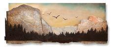 El Capitan Painting, Art, Art Background, Painting Art, Kunst, Paintings, Gcse Art