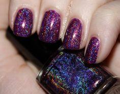 Glitter Gal Dark Purple
