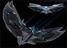 ArtStation - Childhoods End: Overlord spaceships, Ben Mauro