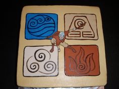 avatar the last airbender cake images | Nickelodeon's Avatar: The Last Airbender — Children's Birthday Cakes