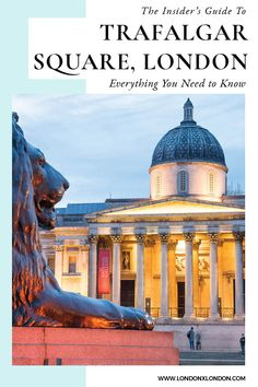 Trafalgar Square: The Iconic London Sight That You Shouldn't Miss Scotland Travel Guide, Europe Travel Guide, Travel Destinations, Ireland Travel, Holiday Destinations, Travel Guides, London Travel, Travel Uk, Hawaii Travel