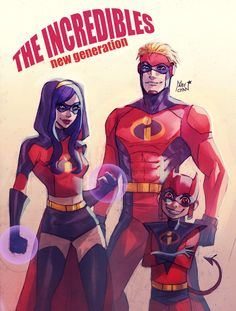 The incredibles by Maby-chan on @DeviantArt