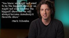 Day 11- Favorite Quote... So it isn't really from the show. But it is from the creator Mark Schwahn and I love what is says, because it is true for me. <3