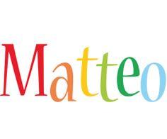 Matteo birthday logo @ramirezjess