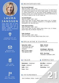 Comment rédiger un CV qui a du punch ! | Cv template, Template and