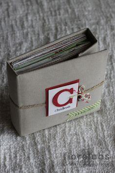 Hobby di Carta - Il blog: MINIALBUM: C is for CHRISTMAS by Fiorella