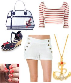 """""""Sea Side"""" by chelli-lopez ❤ liked on Polyvore"""