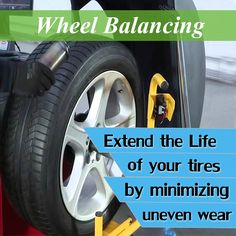 Signs for Wheel Balancing is necessary,when excessive vibration on the steering wheel at a certain speed. Floorboard vibration when certain speed reached. #Wheel #Balancing #DriveSafe #Tyre #Safety #UnitedTyreSalesService