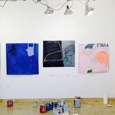 #VCCA studio (at Virginia Center for the Creative Arts)  October 2014.  Sarah Boyts Yoder