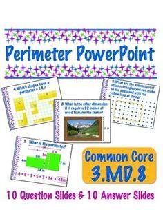 freebie - Perimeter for 3rd grade